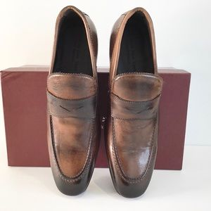 """TO BOOT """"Hayden"""" NEW Brown Loafers w/ Rubber Soles"""